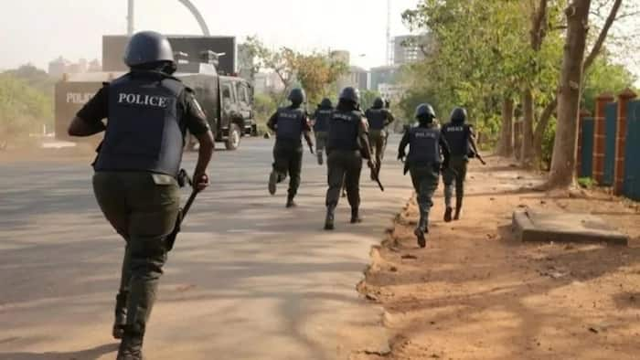 Image result for Nigeria police Raid Redemption Camp, forces out destitute