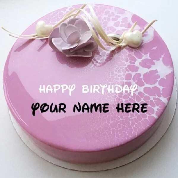 Birthday Mirror Glaze Cakes With Decor