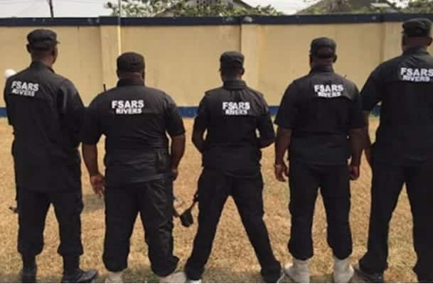 Angry youths set SARS office ablaze after the demise of their friend