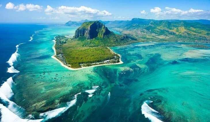 Mauritius tropical island