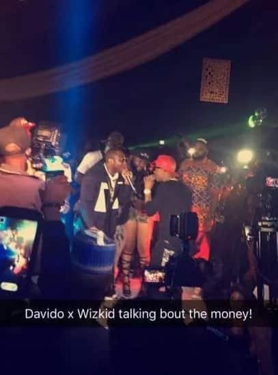Davido, Wizkid Perform Together Despite Rumours Of Misunderstanding