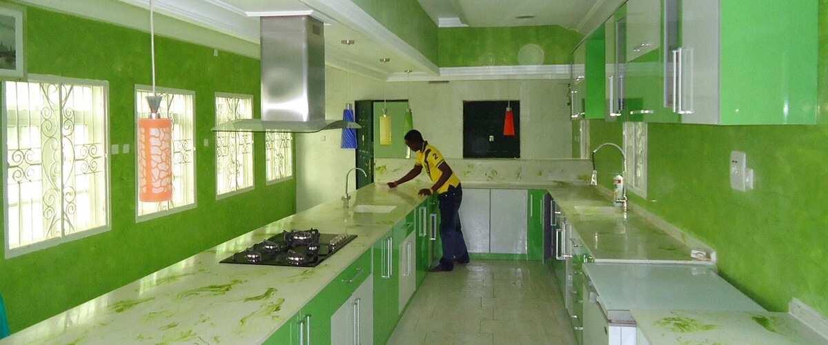 Modern Kitchen Designs In Nigeria
