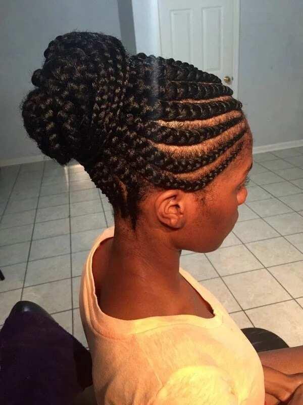 Ghana Hairdo