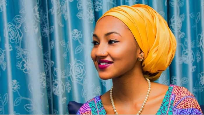 The journey to motherhood has been amazing - President Buhari's daughter Zahra writes after welcoming her first child