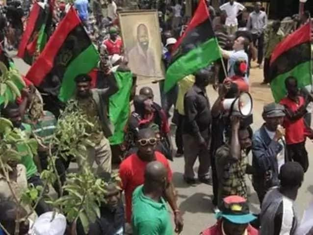 Comrade Uchenna Madu has said the group is past the turning point of relenting on its agitation for Biafra nation.