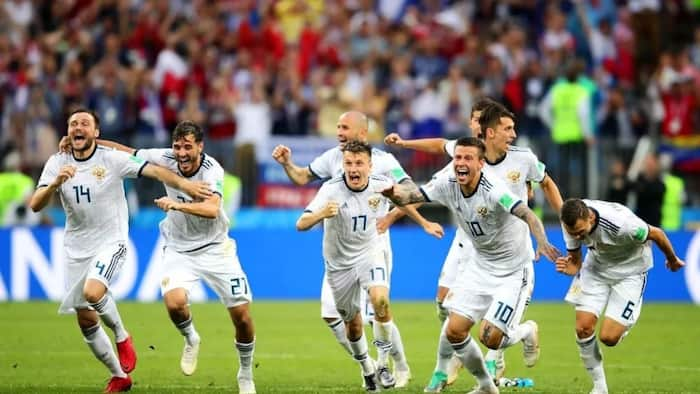Russia reach World Cup quarterfinal for the first time since 1970 after knocking out Spain on penalties
