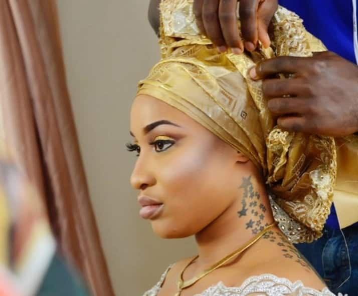 Tonto Dikeh and her wedding