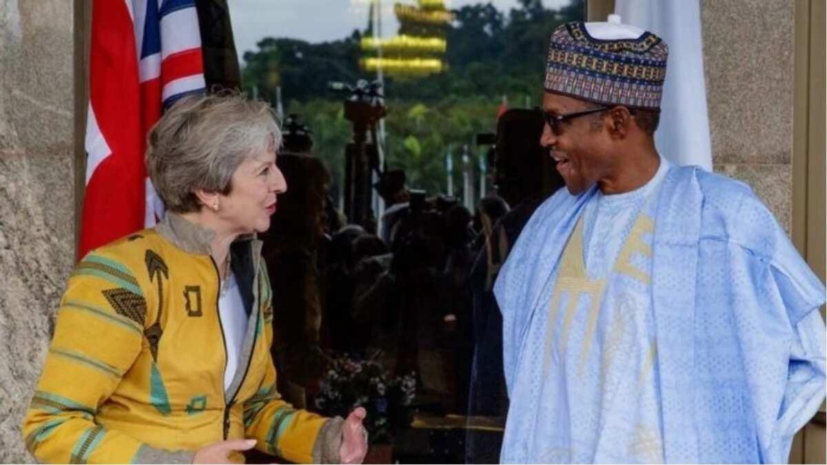 Ziyarar Theresa May: Gwamnatin Ingila tayi furuci a kan takarar Buhari da APC ba zata so ba