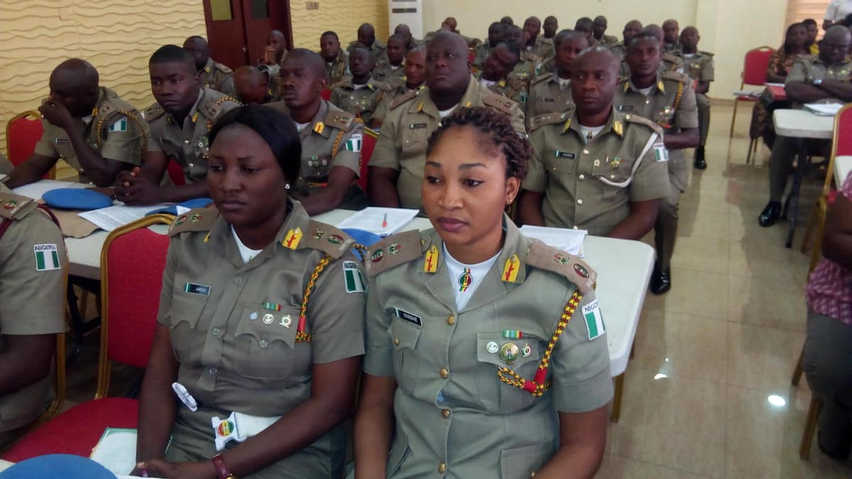 National Unity and Peace Corps uniform colors and their