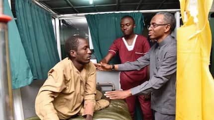 El-Rufai meets with victims of attacks in Kaduna state (photos)