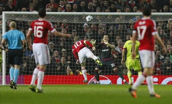 Rooney Finally Scores A Goal, Madrid Survive PSG Onslaught