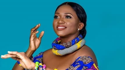 Waje thanks God for taking away bitterness, anger and regret from her life (photos)