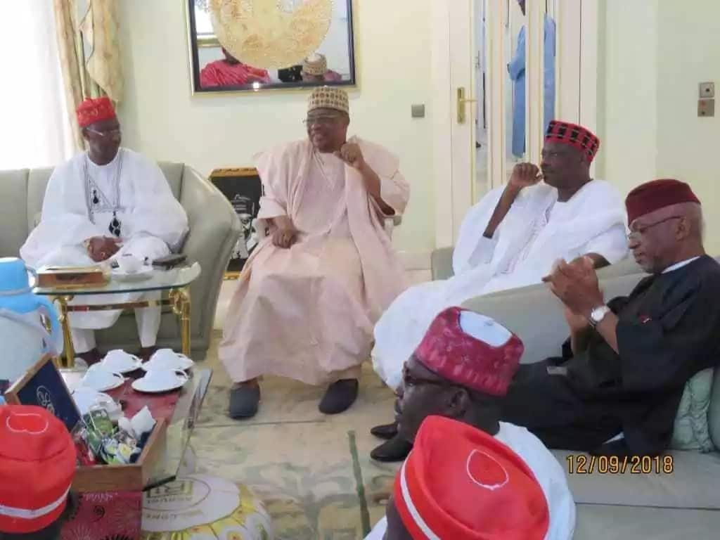 Kwankwaso ya kai wa Janar Ibrahim Babangida ziyara a gida