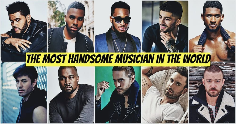 Most handsome musician in the world - Top 10 ▷ Legit ng