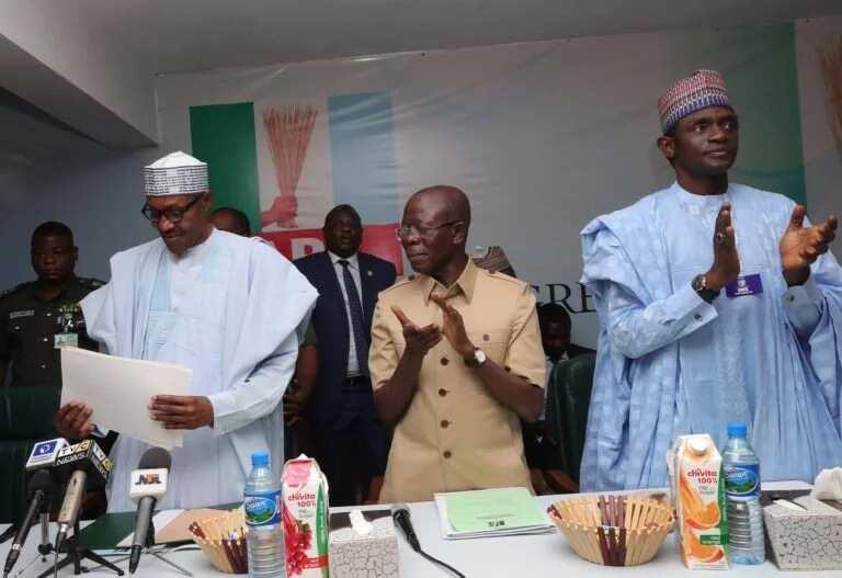 2019: Surukin Buhari ya sayi fam din takarar gwamna