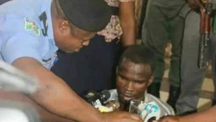 JUST IN: 23-year old UNIPORT student re-arrested days after escaping from detention over ritual killing of 8-year-old (photo)