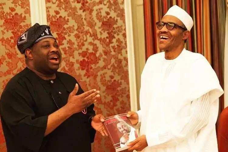 'Na dawo daga rakiyar Buhari, na koma gidan Atiku - Dele Momodu