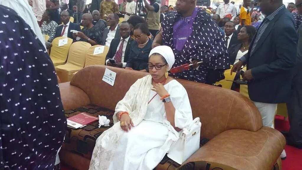 Ooni of Ife classy wife