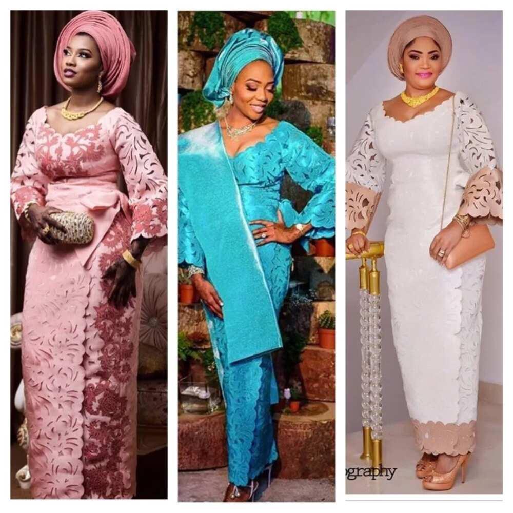 Atiku style ladies Amazing Agbada