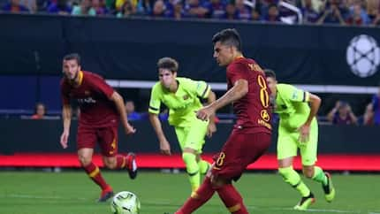 Roma fight back to beat Barcelona as Malcom impresses in debut game
