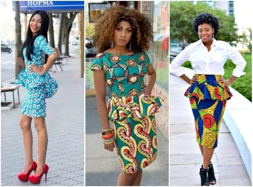 Chic Peplum Styles With Ankara For 2018 Legitng