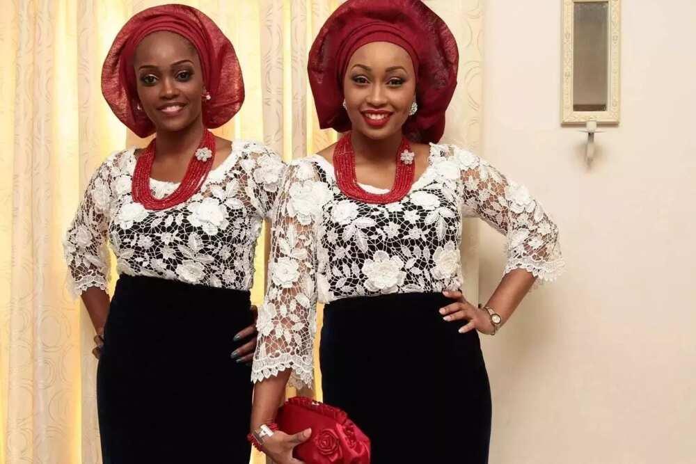 cf45d7198f892e Latest Nigerian lace blouse styles ▷ Legit.ng