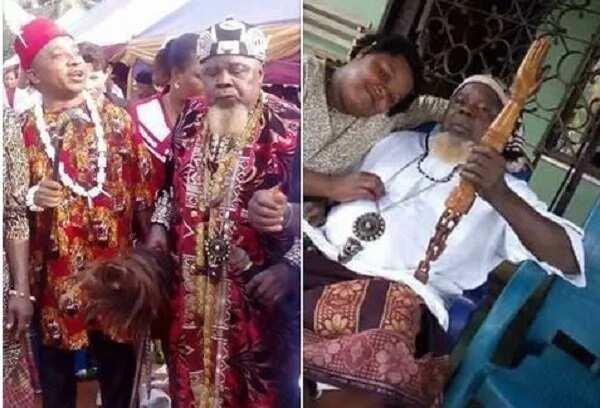 Ichie Mezuo Pericomo Okoye, Arusi Makaja 1, aka Pericoma, allegedly passes on
