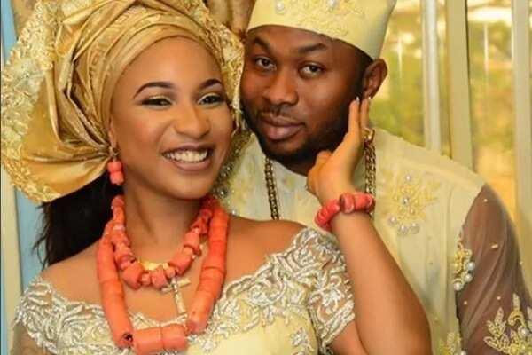 Tonto Dikeh and husband