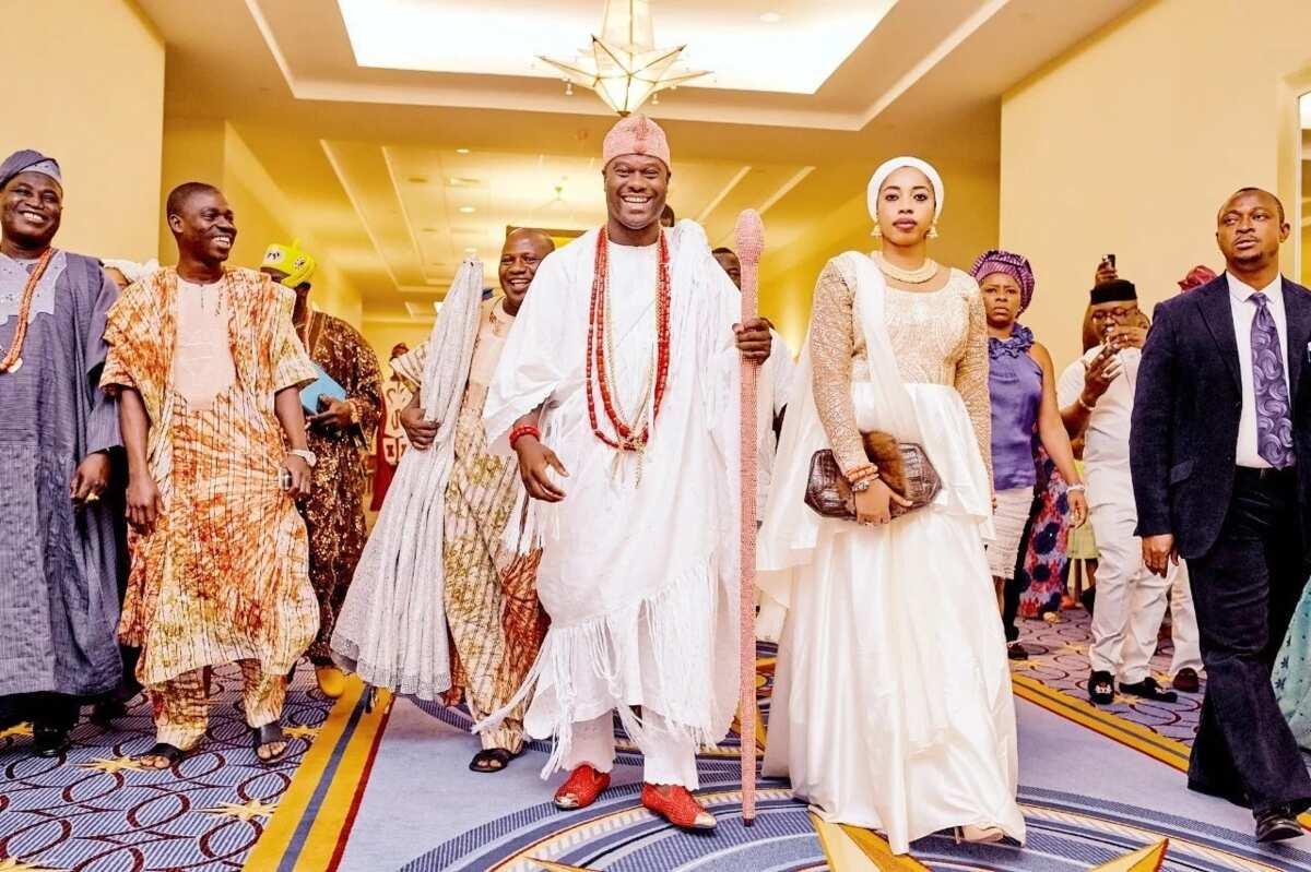 Ooni Ogunwusi's Wife