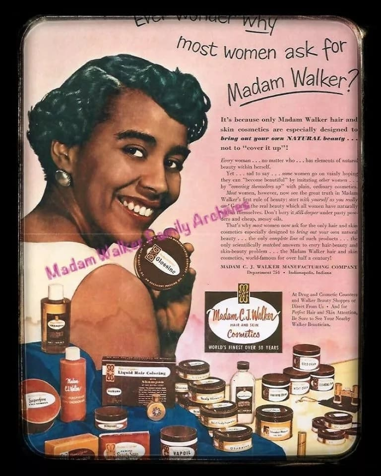 A sample of past African advertising