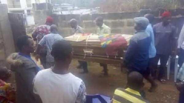 Ichie Mezuo Pericomo Okoye, Arusi Makaja 1, aka Pericoma, allegedly dies