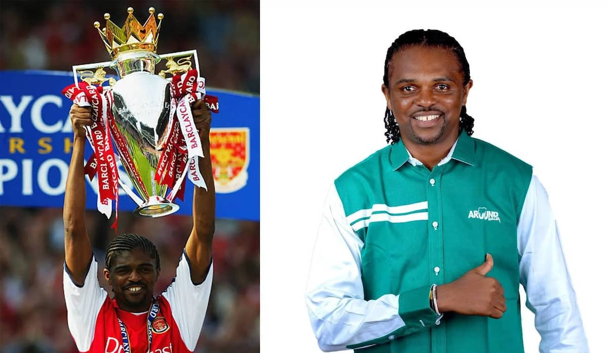How many times did Nwankwo Kanu win the African player of the year title?