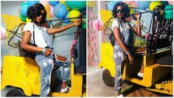 Singer Simi dazzles in stylish dungarees, releases photos on social media
