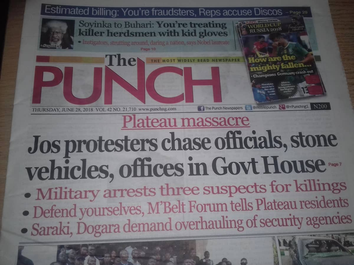 The Punch Newspaper