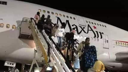 Another batch of stranded 164 Nigerians return from Libya, land in Lagos