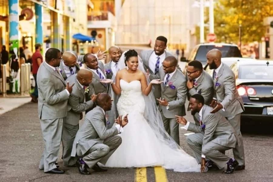 4d040e13e87 Bella Naija bridal train dresses - Best designs ▷ Legit.ng