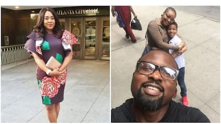 Stella Damasus throws subtle shade at those worried over Daniel Ademinokan and Doris Simeon's reunion