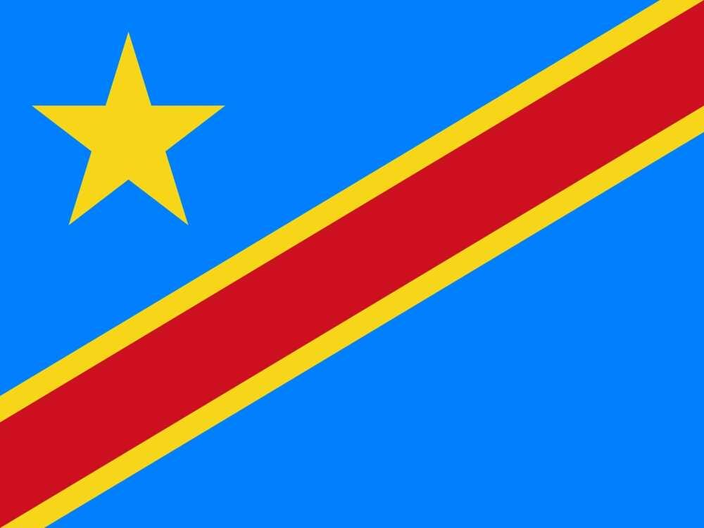 Flag of Congo–Kinshasa