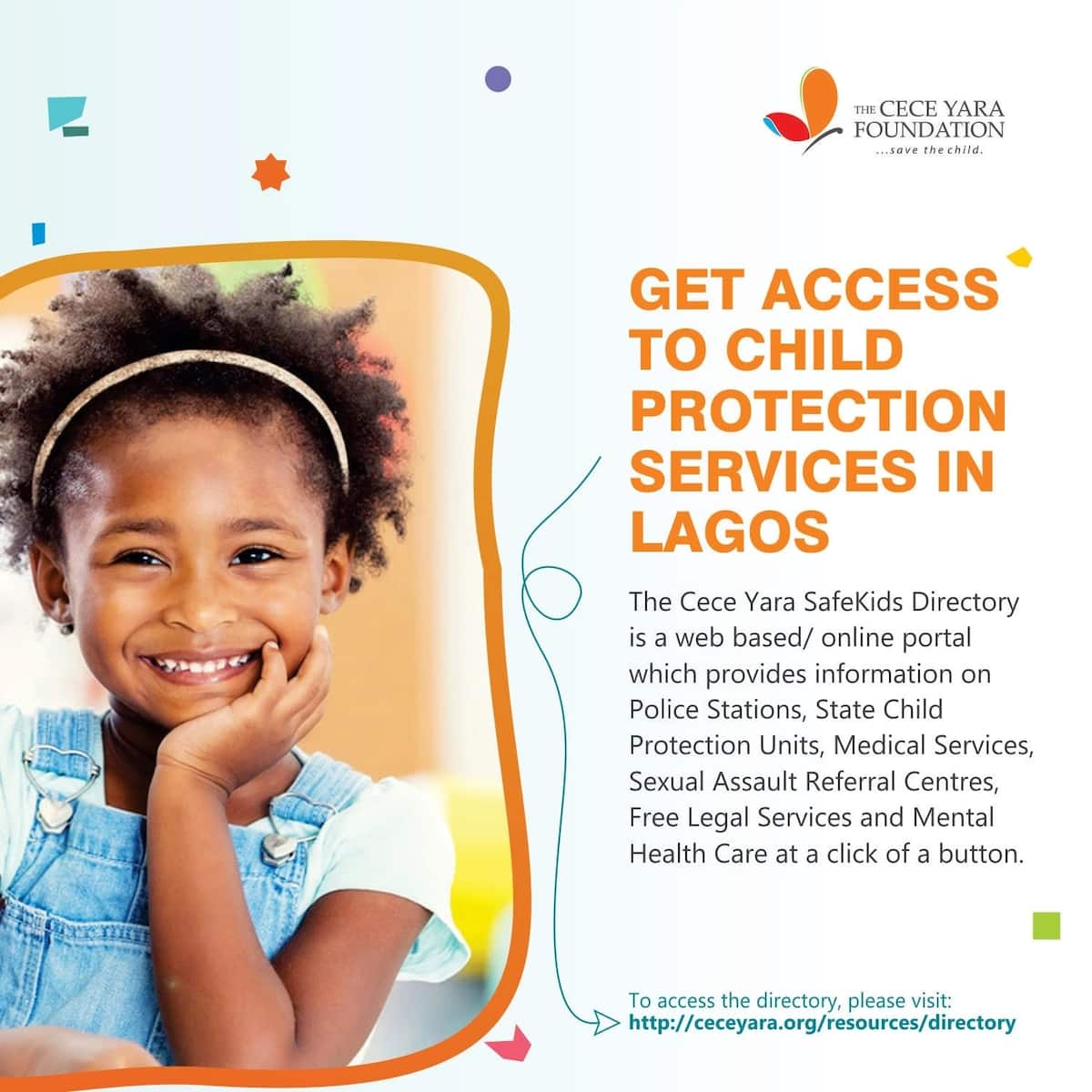 The Cece Yara Foundation launches groundbreaking child protection online directory