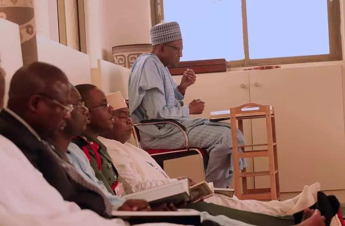 Yanzu-yanzu: Shugaba Buhari ya halarci Tafsiri a yau, 1 ga watan Ramadana