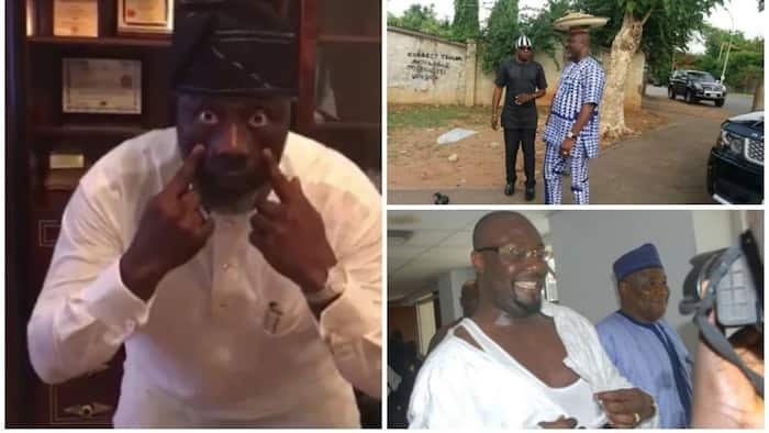 6 photos that show Dino Melaye is a very funny man