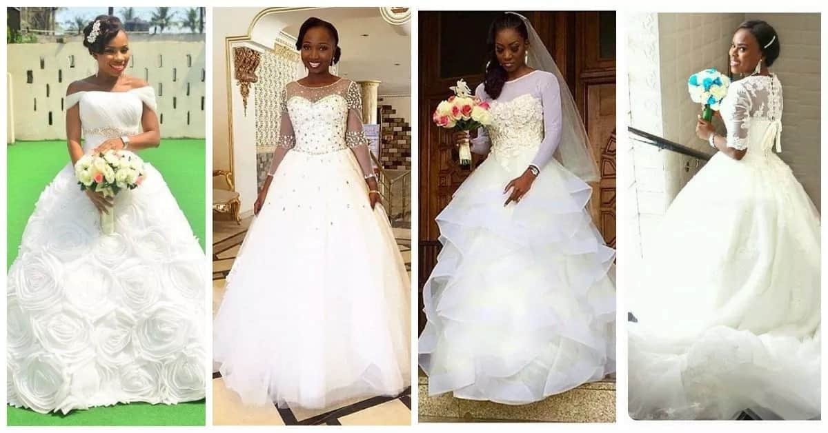 fed3e4b3b6946 Latest wedding gowns in Nigeria 2017-2018 ▷ Legit.ng