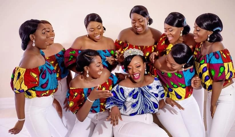 Latest asoebi styles for wedding in 2018