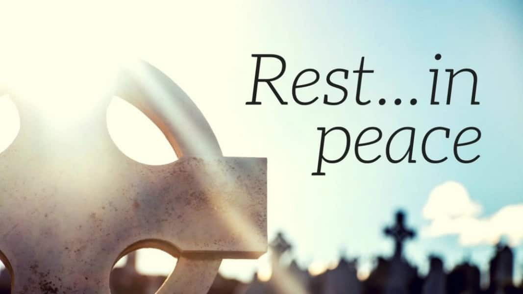 rest in peace quotes for dear people ▷ ng