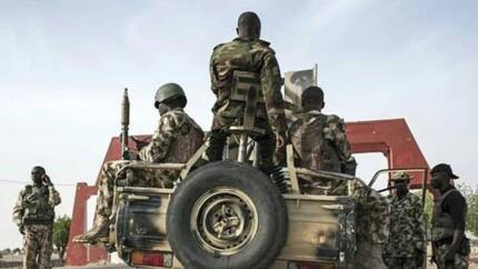Nigerian Army constructs holding facility for insurgents in Borno