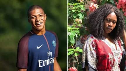 I am not your mate - Nigerian lady beefs French footballer Mbappe for not replying DM