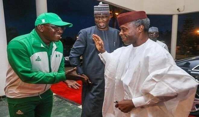 Barazanar fatattakar Najeriya daga FIFA: Osinbajo ya garkame kofa da Ministan wasanni