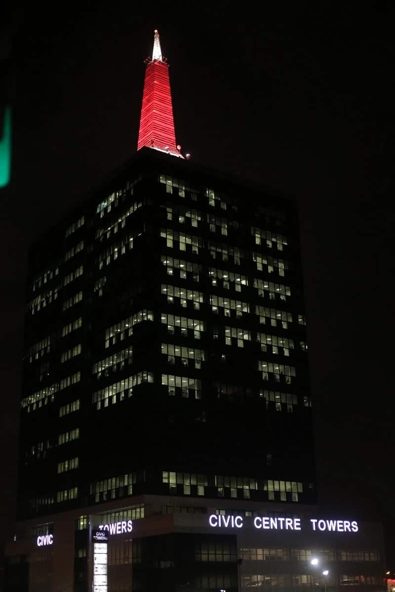 Special Olympics: The Civic Towers, Civic Centre and other international landmarks participate in 'The Light Up for Inclusion'