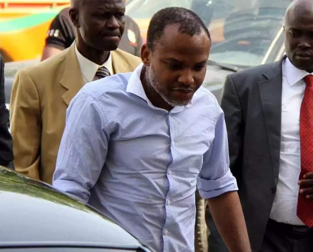 Biafra: Federal government moves against Nnamdi Kanu