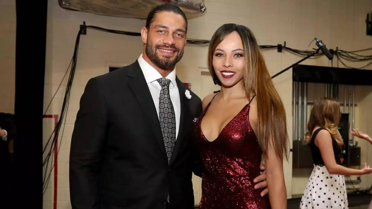 Roman Reigns and his wife
